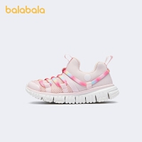 【品类日4件4折】巴拉巴拉童鞋女童鞋子儿童运动鞋男童幼童轻便时尚风2021新款春秋