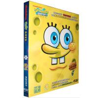 儿童动画片 海绵宝宝 附赠益智图书游戏1册 6DVD