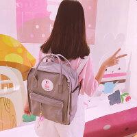 可爱日系软妹少女书包中学生校园休闲书包大容量双肩包