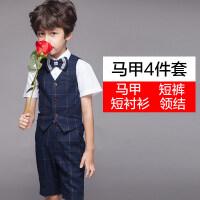 儿童礼服男宝宝韩版小西装套装花童男孩钢琴演出服男童表演童装春
