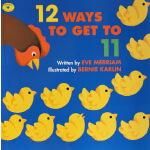 英文原版绘本 12 Ways to Get to 11 数数