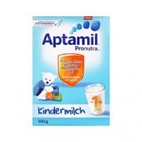 德国Aptamil爱他美婴幼儿配方奶粉1+段(12-24个月宝宝 600g)1盒装 日期新鲜