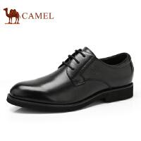 骆驼牌 男鞋 新品商务正装男皮鞋简约时尚系带低帮男鞋