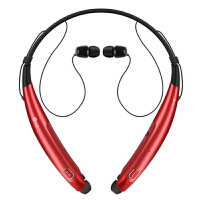 LG HBS-770无线蓝牙耳机LG 760升级版头戴入耳式音乐开车运动通用 红色