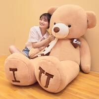 可爱泰迪熊猫公仔抱枕狗熊毛绒玩具抱抱熊大抱熊送女友