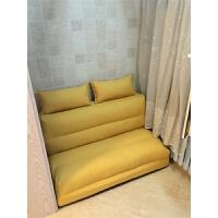 甜梦莱懒人沙发床榻榻米可折叠单人双人两用阳台卧室客厅小户型多功能椅 1.8*2.1米 三人位【乳胶款】