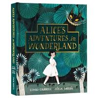 爱丽丝漫游仙境 全彩插画 典藏版 英文原版 Alice's Adventures in Wonderland 进口英语书