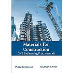 【预订】Materials for Construction: Civil Engineering Fundament