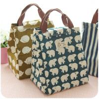防水保温饭盒袋铝箔加厚保冷袋子装带饭的便当包女提饭盒的手提包