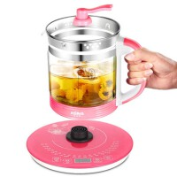 多功能厚玻璃养生壶 办公室全自动预约保温电煮茶壶