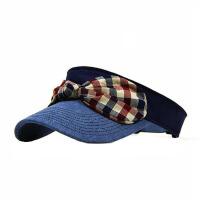 女夏天遮阳帽太阳帽运动骑电动车户外空顶帽 防晒帽子