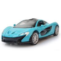 1:32开窗盒嘉业迈凯轮P1合金车模型儿童声光玩具车