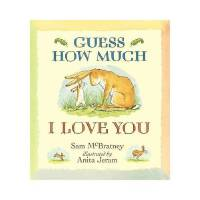 Guess How Much I Love You 猜猜我有多�勰�Sam McBratneyWalkerBooks978