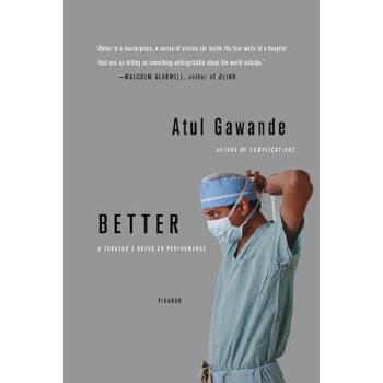 【预订】Better  A Surgeon's Notes on Performance 预订商品,需要1-3个月发货,非质量问题不接受退换货。
