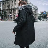 男士棉衣冬天情侣装2018新款外套冬季韩版潮流牌爸爸加厚棉袄