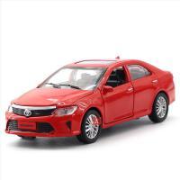 建元 仿真丰田凯美瑞合金汽车模型 儿童声光回力玩具车
