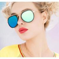 新款 时尚防辐射眼镜 太阳镜女圆脸潮 眼镜长脸墨镜优雅 支持礼品卡