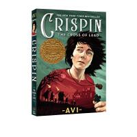 英文原版小说 青少年 铅十字架的秘密 Crispin: The Cross of Lead 纽伯瑞金奖 10 15岁