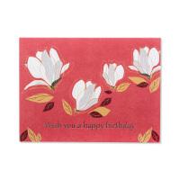 祝福卡 贺卡 白玉兰系列 生日卡 Birthday card JC-Bth010