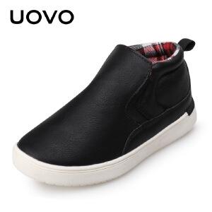 UOVO 春秋新款儿童休闲鞋中大男童鞋透气童鞋小孩子的鞋子巴纳特