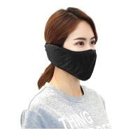 秋冬季防尘口罩透气保暖口耳罩骑行防护雾霾男女透气口罩