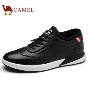 camel 骆驼男鞋 秋季新品时尚运动休闲皮鞋百搭潮流日常休闲鞋