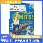 进口英文原版 TORNADO HITS! 小记者希尔德系列#5:龙卷风来袭 [7-10岁]