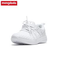 儿童运动鞋男童鞋子2018新款跑步鞋透气中大童女童鞋小白鞋