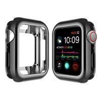 苹果apple watch4保护套苹果4代手表壳iPhone watch4全包电镀套iw