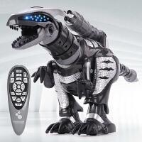智能机器人玩具遥控恐龙触摸感应儿童编程电动跳舞霸王恐龙男孩玩具礼物