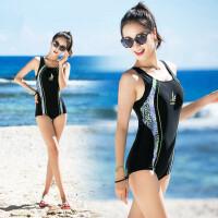 游泳衣女士连体平角 有加大码泳装 户外休闲沙滩泳衣 支持礼品卡支付