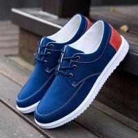 春季帆布鞋男士休闲鞋男老北京布鞋男鞋韩版运动板鞋潮流工作鞋子