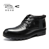 Camel Active/骆驼动感冬季新品商务高帮男棉鞋