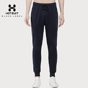 美国HOTSUIT后秀男裤新款修身透气跑步运动健身收口休闲针织长裤5778558