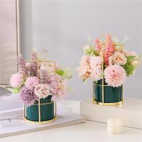 假花仿真花摆件装饰客厅餐桌茶几花艺用品室内家居高档小花束摆设