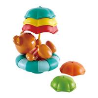 Hape假日泰迪漂浮�愣讯��12��月以上����洗澡玩具�胗淄婢�蛩�浴室玩具E0203