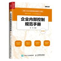 企业内部控制规范手册 第3版 企业管理书籍 企业内部控制实施细则 企业内部控制流程化管理 企业内控精细管理书籍