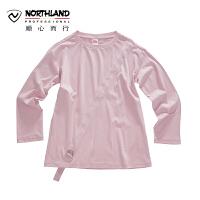 【顺心而行】NU诺诗兰长袖T恤春夏季户外新款时尚女式休闲T恤KL072102