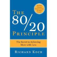 英文原版 80/20效率法则 The 80/20 Principle: The Secret to Success b