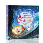 英文原版绘本 灰姑娘立体书Usborne出品 Pop-up Cinderella 纸板书 拉页弹出式立体书 童话故事