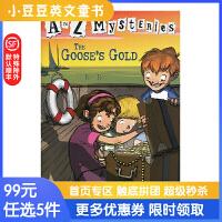 进口英文原版The Goose's Gold A to Z 神秘案件 #7 金鹅号的宝藏 6-12岁