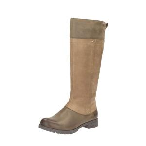 Clarks/其乐女鞋2017秋冬新款英伦时尚防水休闲长靴Neeve Ella GTX专柜正品直邮