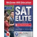 英文原版 麦格劳-希尔2020年SAT精英 McGraw-Hill Education SAT Elite 2020