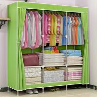 大号布衣柜 简易加厚面料折叠布衣橱收纳多门抖音同款