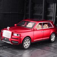 仿真合金车模MPV声光可开门SUV轿车商务车金属汽车模型玩具车