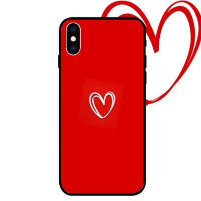 苹果8plus手机壳情侣iPhone6s plus硅胶保护套全包防摔软边7p潮流个性创意xr男女挂绳