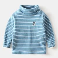 儿童打底衫宝宝高领T恤长袖冬装童装男童上衣女