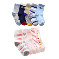 KK树2017新款儿童袜子春秋保暖袜子宝宝袜子卡通袜儿童棉袜透气潮