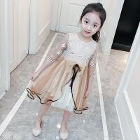 20180612074025609女童连衣裙春装韩版洋气童装2018新款儿童纱裙夏装公主裙女孩裙子