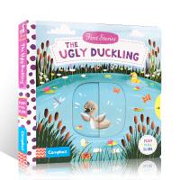 进口英文原版绘本First Stories:The Ugly Duckling丑小鸭 幼儿益智纸板抽拉玩具操作书0-3